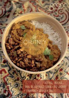 Un granola salé qui fait croustiller un grand classique de la cuisine indienne : le daal de lentilles corail.  #cuisineindienne #daal #granolasalé #grenn