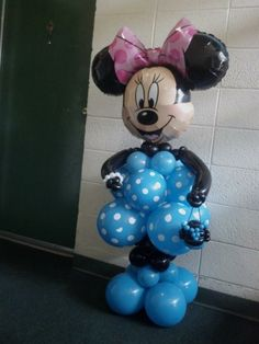 Minnie Mouse Balloon Character Disney Licensed BalloonCr8ive@gmail.com