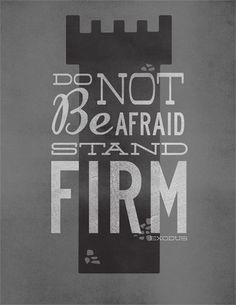 Stand Firm - Editable psd