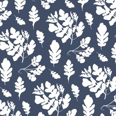 Wallpaper - Arugula   Denim - Traditional Wallpaper / 8 x 9.6 (sample)