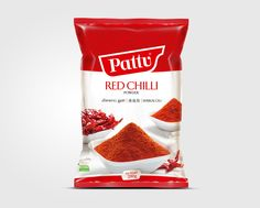 Pattu Red Chilli Powder Packaging Design