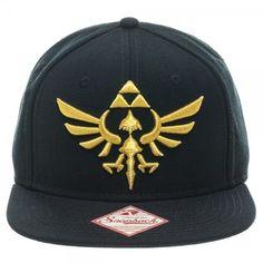 f344644f026 Nintendo The Legend of Zelda Crest Black Snapback