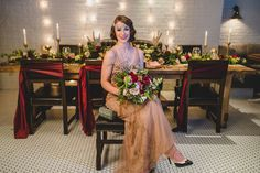 Vintage Glam Wedding Inspiration | Edward Lai Photography | A Day to Remember Weddings and Events  |  Reverie Gallery Wedding Blog