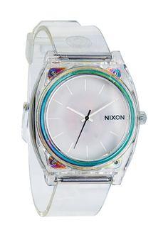 The Time Teller P - Translucent | Nixon -