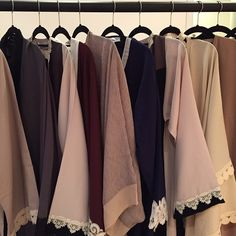 Beautiful Dubai Abayas | Dentelle Details | Nude Colors