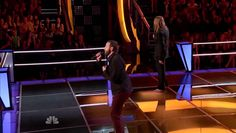 Nicholas David vs. Todd Kessler - She's Gone - The Voice Battle