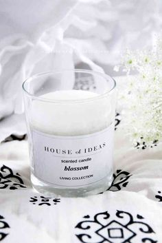 HOUSE of IDEAS Scented candle LIVING COLLECTION - HOUSE of IDEAS Oriental accessories and Polish Pottery