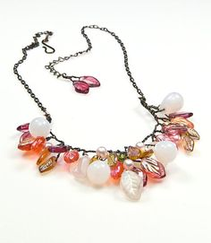 Hey, I found this really awesome Etsy listing at https://www.etsy.com/listing/116836355/colorful-bead-necklace-multi-color