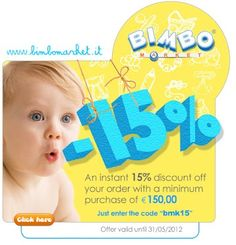 Hurry up: the promotion won't last!    Vybírejte na: http://www.moje-obchody.cz/product/bimbomarket-it-broadest-online-megastore-baby-products-1527/