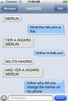 Merlin and Potter!