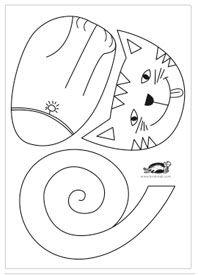 Threefast   Hacer gatos de papel: 3 ideas