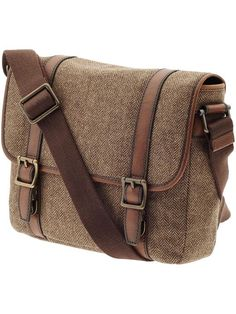 Casual Buckle and Rivet Design Messenger Bag For Men | More ...