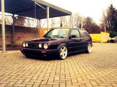 Too cool golf gti Scirocco Volkswagen, Volkswagen Golf Mk2, Volkswagen Polo, Golf Gti Mk2, T2 T3, Kia Motors, Old School Cars, Vw Cars, Unique Cars