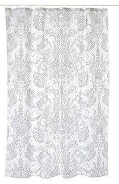 Vallila CT000430-1 Syvämeri, Textil Duschvorhang, natur