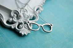 Nerd Glasses Necklace