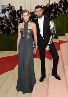 Attack of Zigi! Find out whether I liked Zayn Malik and Gigi Hadid's outfits at the Met Gala:  http://www.fariwu.com/fashion/best-looks-of-met-gala-2016/