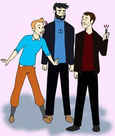 Tintin!Who :D