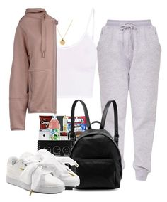 """Untitled #195"" by champagnayegang ❤ liked on Polyvore featuring STELLA McCARTNEY, BasicGrey, adidas and Puma"