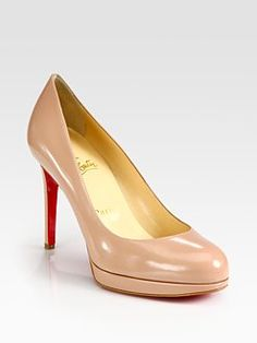 Quite possibly the perfect nude pump.