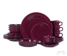 Fiesta Dinnerware Fall Must Haves - including new color Claret!