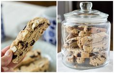 Almond Blueberry Biscotti - The Adventures of MJ and Hungryman