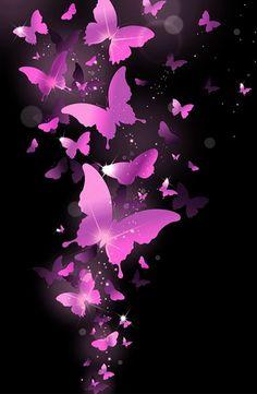 L Blue Butterfly Wallpaper, Butterfly Background, Flowery Wallpaper, Butterfly Art, Phone Screen Wallpaper, Cute Wallpaper For Phone, Love Wallpaper, Wallpaper Backgrounds, Iphone Wallpaper