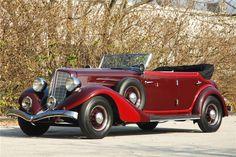 1934 AUBURN CONVERTIBLE SEDAN - Barrett-Jackson Auction Company - World's Greatest Collector Car Auctions