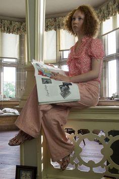 Juno Temple, Lola Quincey - Atonement (2007) #ianmcewan #joewright (Costume Design by Jacqueline Durran)