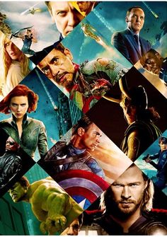 ALL The Avengers! I like that loki is in this picture c: can he please be an avenger??!