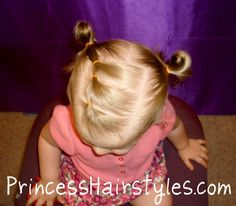 Toddlers Hairstyles for Little Girls | Toddler Hairstyles, Elastic Braid Pigtails
