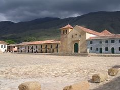Explore the cobbled streets of the old town of Villa de Leyva Colombia.