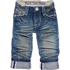 Rock Your Baby Jeans omg they remind me of rock revival jeans but for baby, I'm in love