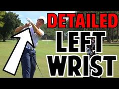 The Left Wrist in the Golf Swing | Crazy Detail - YouTube