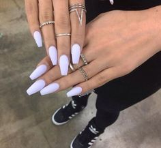 Imagen de nails, rings, and adidas