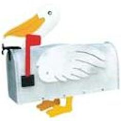 Pelican Mailbox - #1022 - Unique Hand-Made Novelty Mailbox - Holiday Gift #MoreThanAMailbox