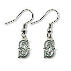 fee94051c77e9c MLB Seattle Mariners Logo Dangler Earrings