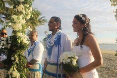 Beach and Sunset #wedding @ #smugglerscovefiji