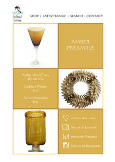 We have Christmas now in-store and online.   Take a little amber preamble here: http://www.myislandhome.com.au/list.mibiznez?id=501&name=NEW ARRIVALS... Christmas