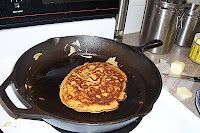 Sprouted Blender Batter Pancakes, from The Organic Mama