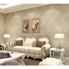 38.47$  Watch now - https://alitems.com/g/1e8d114494b01f4c715516525dc3e8/?i=5&ulp=https%3A%2F%2Fwww.aliexpress.com%2Fitem%2Fnon-woven-wallpaper-3D-three-dimensional-flocking-European-style-flower-Teng-bedroom-living-room-TV-background%2F32428657163.html - non-woven wallpaper 3D three-dimensional  flocking European-style flower Teng bedroom living room TV background wallpaper