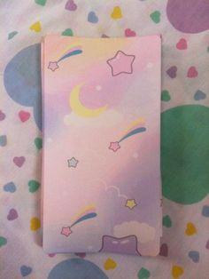 オリジナルタイツmoon dreamer柄 pastel