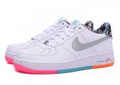 official photos edf03 5dad9 NIke Air Force 1 (rainbow) Zapatos Baratos, Zapatos Blancos, Hombres Nike,