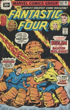 Lot Detail - 1976 The Fantastic Four Marvel Comics (Featuring Rich Buckler and Jack Kirby Cover/Art; Roy Thomas and Bill Mantlo Stories) Marvel Comic Books, Comic Books Art, Marvel Comics, Comic Art, Book Art, Marvel Vs, Fantastic Four Comics, Mister Fantastic, Jack Kirby