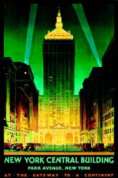 New York Central Building, Park Avenue, New York