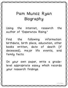 differentiated lessons for teaching ldquo esperanza rising rdquo by pam esperanza rising novel study activities book report vocabulary