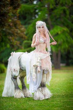Centaur cosplay!! So cool!