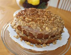 Mom's Oatmeal Cake with Broiled Coconut Frosting