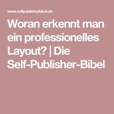 Woran erkennt man ein professionelles Layout? | Die Self-Publisher-Bibel