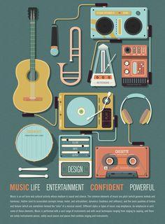 Music Poster on Behance