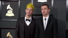 twenty one pilots at Grammys 2017
